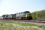 CSX 638 leads eastbound