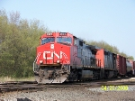 CN 2559 leads westbound