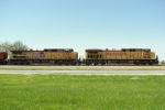 Southbound UP Loaded Coal Train DPU's