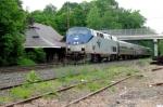 Amtrak westbound
