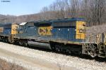 CSX SD40-2 8838