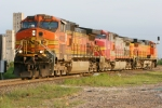 BNSF 4335 leads a trio of GE's