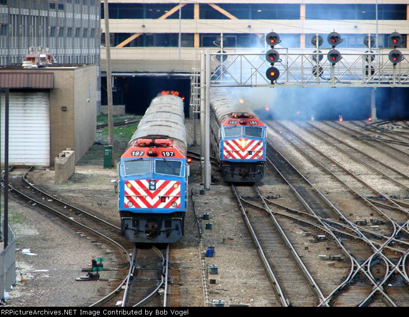 METX 197 and 185