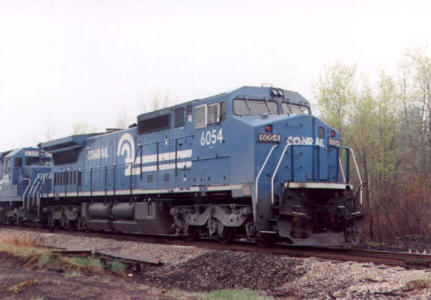 CR 6054 leads a Bow coal train