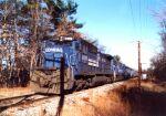CR 6008 leads a Bow coal train