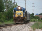 CSX 5891 leading Geometry train W001-19