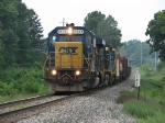 CSX 8838 leading Q326 east past CH 147