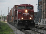 CP 8831 leading X500 east on track 2