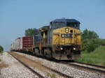 Q326-30 rolling east behind a pair of C40-8W's
