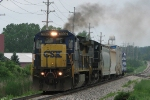 CSX 7607 smokes it up on Q326-09