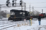 NS 3030 gets photographed by what appears to be a Jawa
