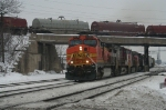 BNSF 5316 under the CC