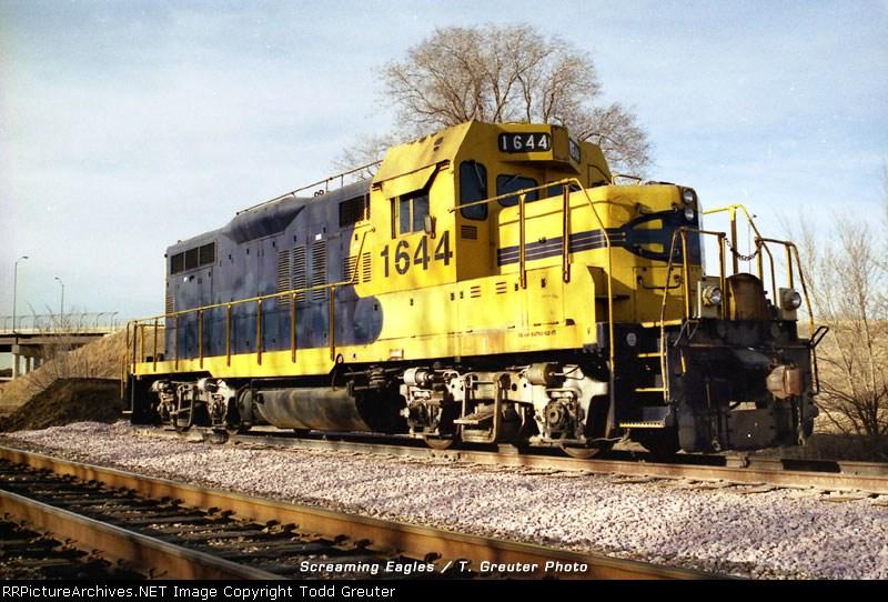 Ex-ATSF GP9U