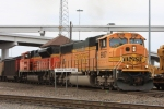 BNSF 9937 & 9392 with a SB coal unit train