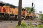 BNSF 9937 paces a SB UP coal drag