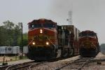 N/B BNSF Trains