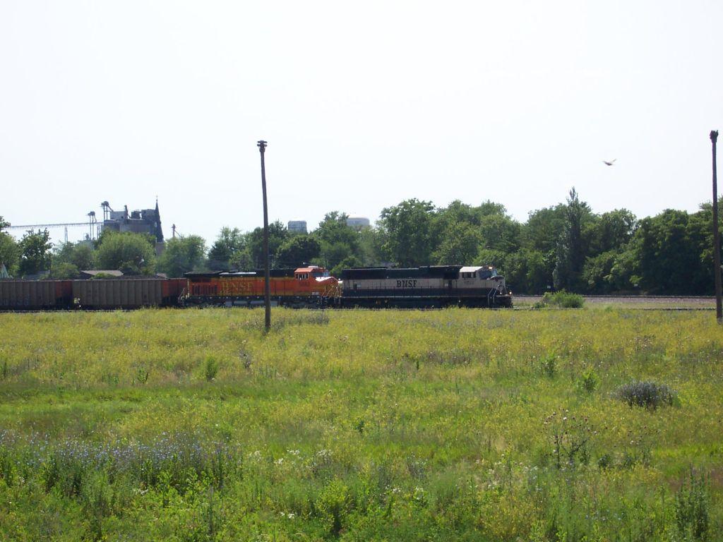 Coal train leaves