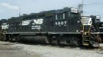 NS 5807 At Norfolk Southern  Motor Yard