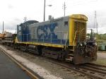CSX 1122 in Cleveland,Ohio