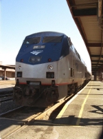 Amtrak 145 at Springfield Union