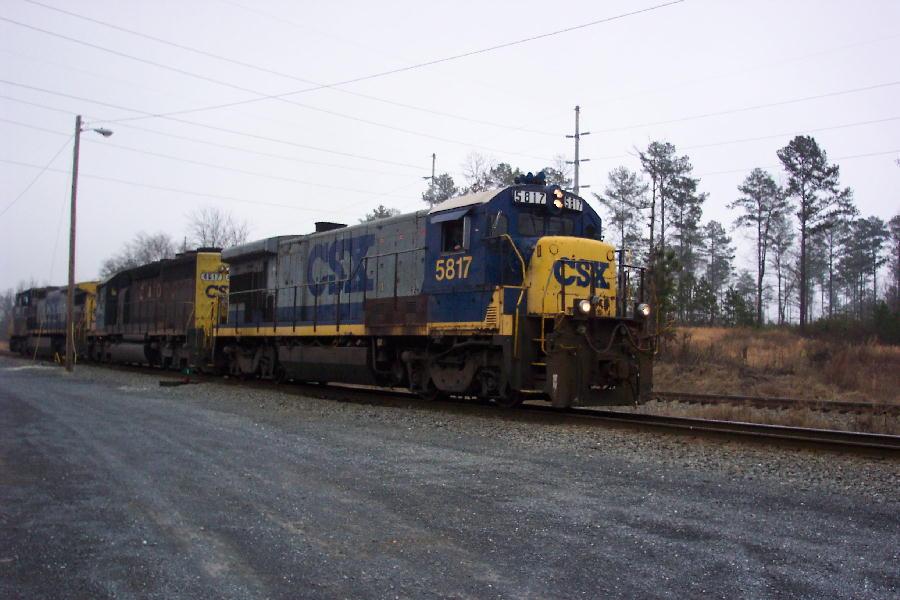 Local power on train Y122