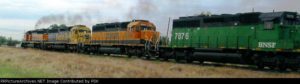 BNSF 8087