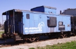 Old Conrail class N8A Caboose