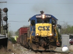 CSX 5875 rolling east onto the double track with D008-05