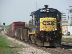 D008-05 rolls east towards Wyoming Yard