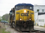After delivering coal loads to West Olive, N903-06 returns eastward lite power
