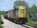 CSX 2698 heading east with Y150
