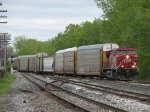 CP 8543 works its way through Lamar with X500-21