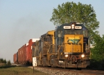 CSX 4441 leading Q327-23 past milepost 143