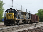 CSX 8530 & 7838 roll into Plaster Creek with Q335-25