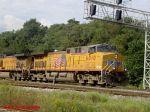 UP CW44AC 6010 at Bay Yard
