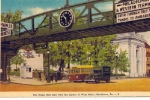 P&W WEST MAIN ST NORRISTOWN POSTCARD
