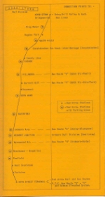 P&W STATION ROUTE MAP 6-17-60