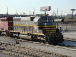 """BRC 560 SD40 on the """"south chicago"""" job @ BRC Clearing yd"""