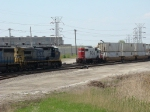 CSX inbound and SOO lANDERS TRANSFER @ Hayford Int on the BRC