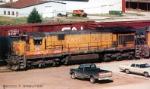 UP 2511 at UP depot