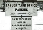 Taylor Yard Office Sign