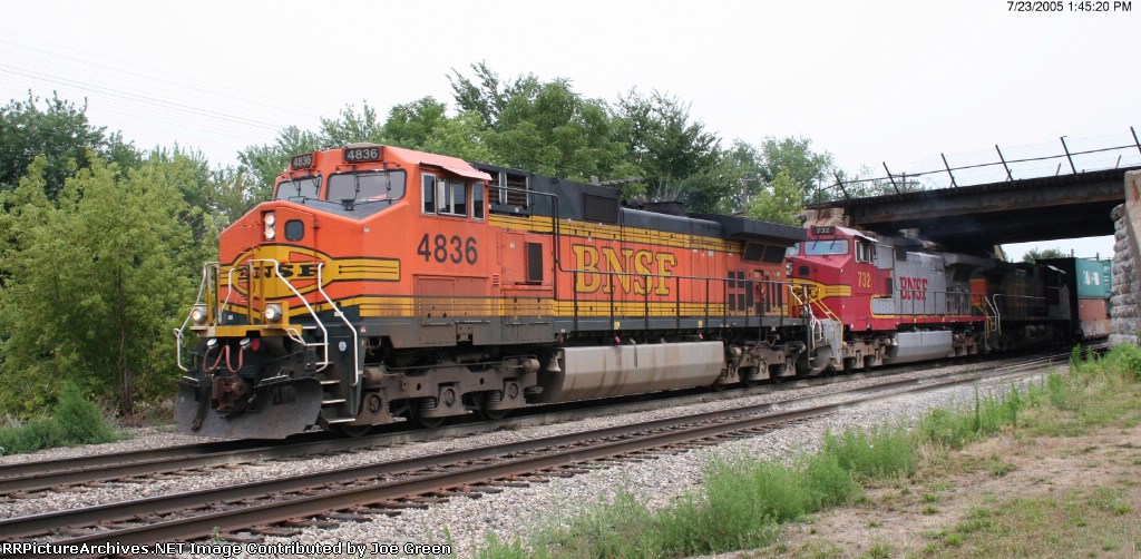 BNSF 4836