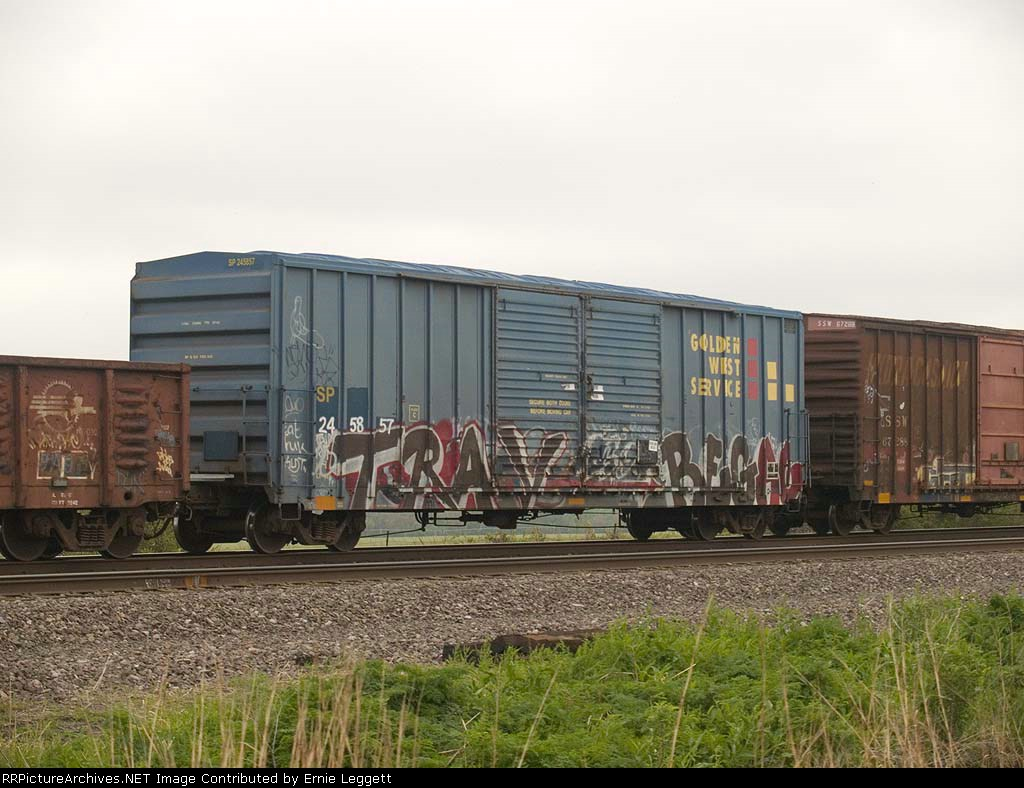 SP 245857 in a EB local manifest at 1:23pm