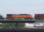 BNSF 4461 #2 power in an EB grain train at 11:13am