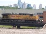 UP 6499 leads a SB coal train at 11:25am