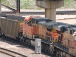 BNSF 5647 #2 power in a SB coal train at 12:05pm