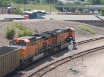 BNSF 5866 and BNSF 5647 pull a SB coal train at 12:05pm