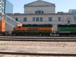 BNSF 2294 #2 power in a WB switching unit at 2:33pm