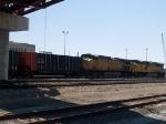 UP 7283 #1 rear DPU on an EB coal train at 2:40pm