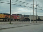 BNSF 701 #2 power in a waiting WB consist at 4:39pm